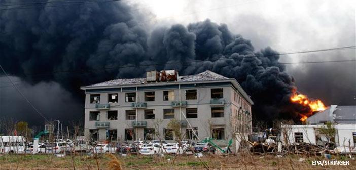 Κίνα: Στους 64 οι νεκροί από την έκρηξη σε χημικό εργοστάσιο