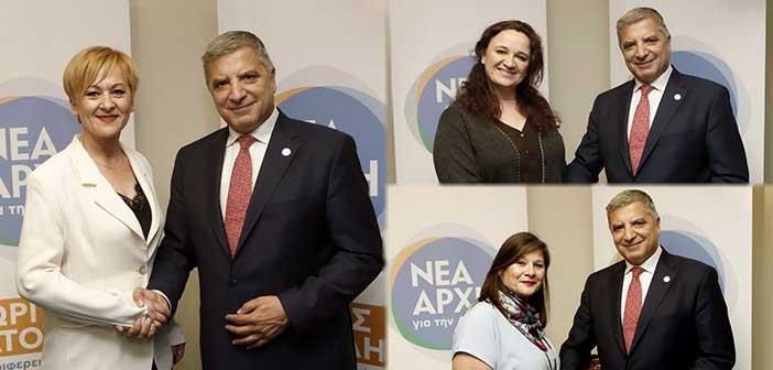 Τρεις γυναίκες υποψήφιες με τη Νέα Αρχή για την Αττική