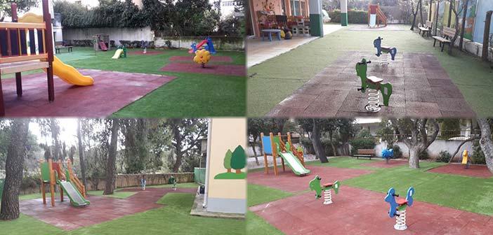 Αναβάθμιση και πιστοποίηση παιδικών χαρών στους Παιδικούς Σταθμούς του Δήμου Αμαρουσίου