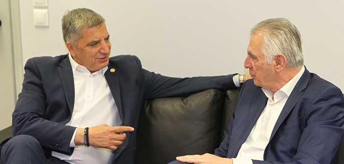 Με τον δήμαρχο Περιστερίου συναντήθηκε ο υποψήφιος περιφερειάρχης Γ. Πατούλης