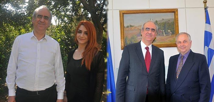 Στην παράταξη του Γ. Θωμάκου οι Βεατρίκη Στεφάνου και Συμεών Κωνσταντινίδης