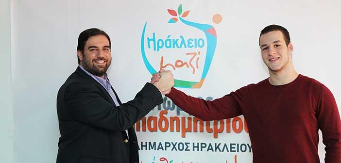 Υποψήφιος με τον Γ. Παπαδημητρίου ο 19χρονος Κ. Μπεθάνης