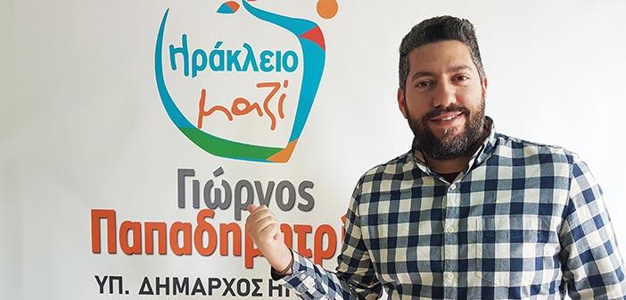 Υποψήφιος με το Ηράκλειο Μαζί ο Πέτρος Κοντός