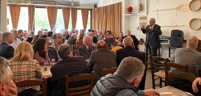 Θ. Αμπατζόγλου: Τα προβλήματα δεν λύνονται με ευχολόγια, αλλά με συγκεκριμένες ενέργειες