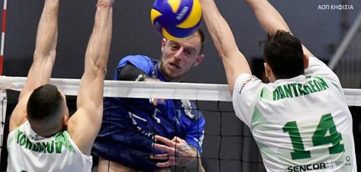 Volley League: «Ζωντανός» στη μάχη της πρόκρισης ο ΑΟΠ Κηφισιάς – Νίκησε στο τάι μπρέικ τον Παναθηναϊκό