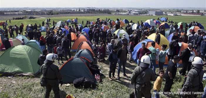 Θεσσαλονίκη-Διαβατά: Εκατοντάδες πρόσφυγες-μετανάστες ζητούν να φύγουν από την Ελλάδα