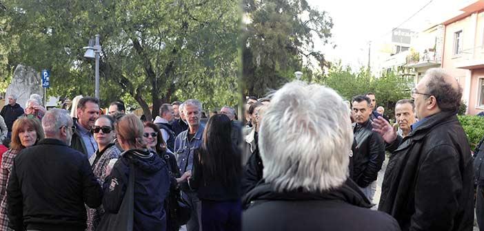 «Ο δήμαρχος Χαλανδρίου έχει ξεκινήσει δριμύ πόλεμο με τους κατοίκους του Πατήματος για τον ΧΕΥ9»