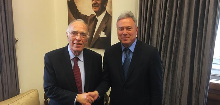 Συνάντηση Γ. Σγουρού με τον πρόεδρο της Ένωσης Κεντρώων