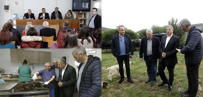 Στον Περιβαλλοντικό Σύνδεσμο Δήμων Αθήνας και Πειραιά στο Σχιστό ο Γ. Πατούλης
