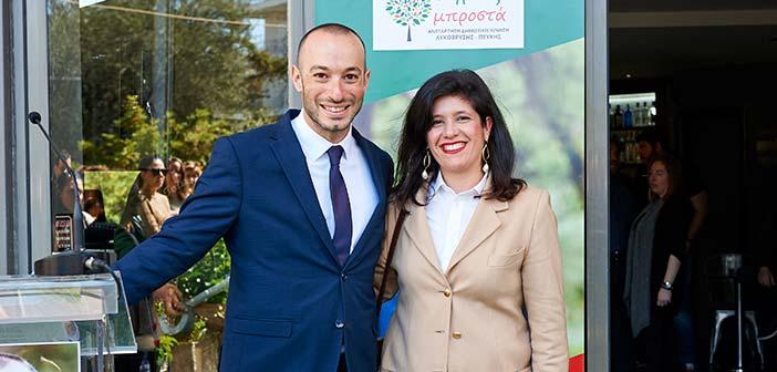 Υποψήφια με τον συνδυασμό Δήμος Μπροστά+ η Χρ. Λεωνίδου