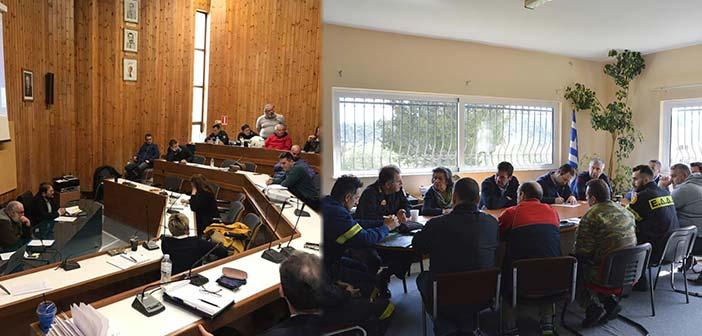 Ο πρόεδρος του ΣΠΑΠ στις συνεδριάσεις για την Πολ. Προστασία των Δήμων Κηφισιάς και Διονύσου