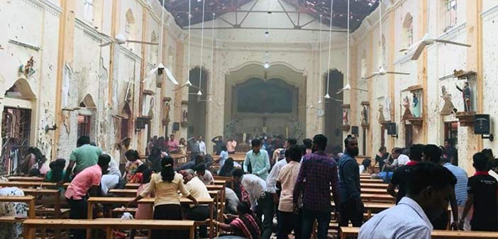 Σρι Λάνκα: Εκρήξεις σε εκκλησίες και ξενοδοχεία