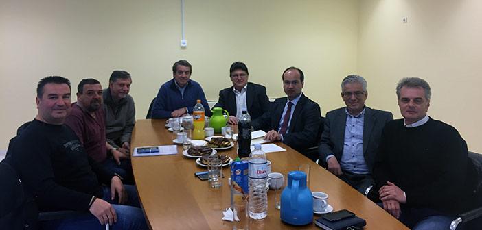 Συνάντηση Κ. Τίγκα με Δ.Σ. της Ένωσης Γονέων Δήμου Παπάγου-Χολαργού