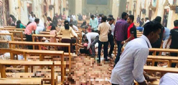 Αιματοβαμμένο Πάσχα στη Σρι Λάνκα με πάνω από 138 νεκρούς και εκατοντάδες τραυματίες