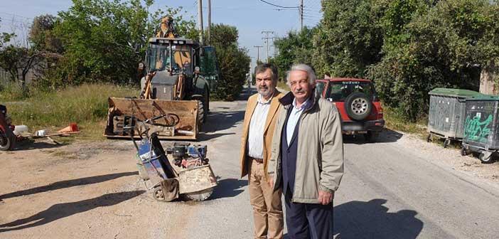Ξεκίνησαν τα έργα αποχέτευσης στην περιοχή Καλλιθέας Πεντέλης