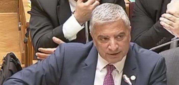 Τις θέσεις της ΚΕΔΕ για τη ρύθμιση των 120 δόσεων κατέθεσε στη Βουλή ο Γ. Πατούλης