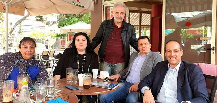 Συνάντηση Μ. Κρανίδη με τον Εμπορικό Σύλλογο Χαλανδρίου