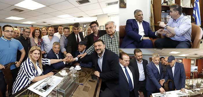 Την εμπιστοσύνη τους στον υποψ. περιφερειάρχη Γ. Πατούλη εξέφρασαν οι δήμαρχοι Π. Φαλήρου και Ελληνικού-Αργυρούπολης