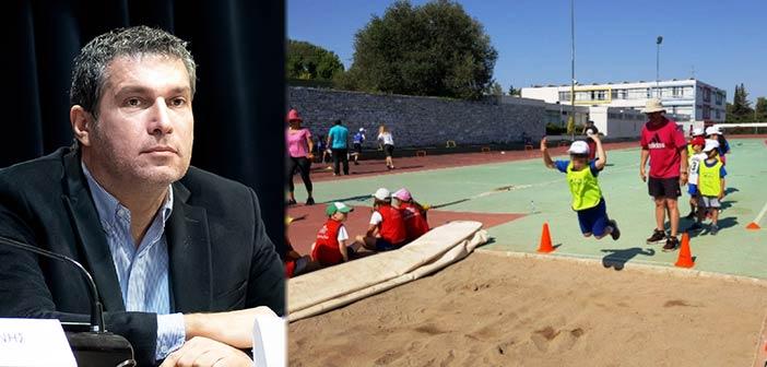 Ν. Πέππας: Δίνουμε παλμό ζωντάνιας και υγείας μέσα από τα αθλητικά μας προγράμματα
