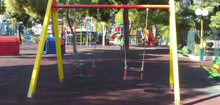 Νέο έργο συντήρησης παιδικών χαρών στον Δήμο Αγ. Παρασκευής