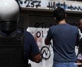 Επίθεση στα γραφεία του ΣΥΡΙΖΑ στα Εξάρχεια
