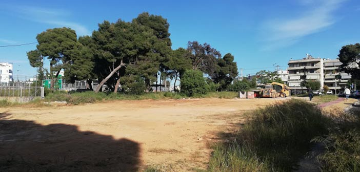 Αποκαταστάθηκε ο χώρος των 10 στρεμμάτων στη συμβολή της οδού Φραγκοκκλησιάς με τη Λ. Πεντέλης