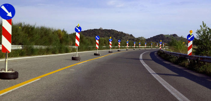 Νέες κυκλοφοριακές ρυθμίσεις λόγω των έργων ασφαλτόστρωσης στη ΝΕΟ Αθηνών-Λαμίας