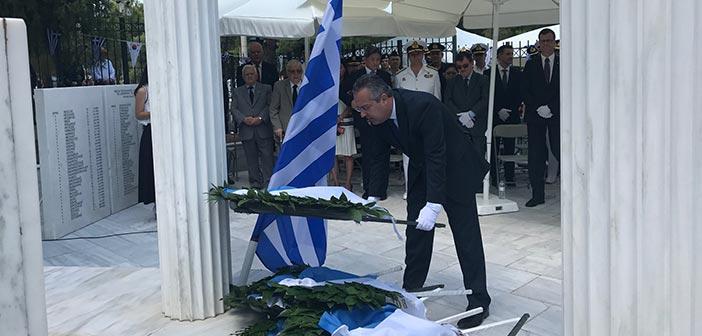 Επιμνημόσυνη δέηση και κατάθεση στεφάνων υπέρ των Ελλήνων Πεσόντων στην Κορέα