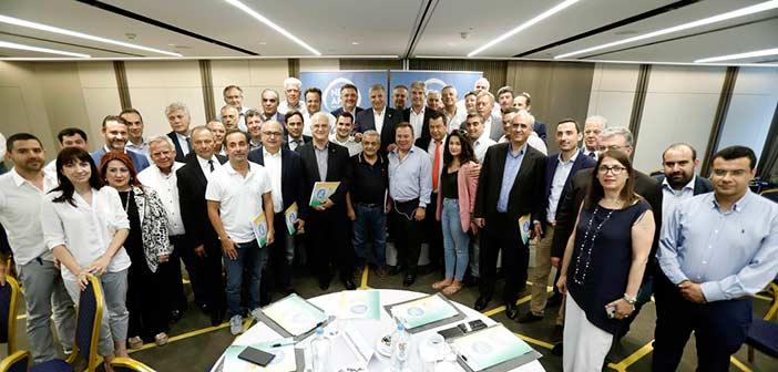 Συνάντηση του νέου περιφερειάρχη Γ. Πατούλη με νεοεκλεγέντες και επανεκλεγέντες δημάρχους της Αττικής