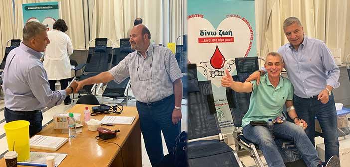 Με 180 μονάδες αίματος ενισχύθηκε η Τράπεζα Αίματος Δήμου Αμαρουσίου