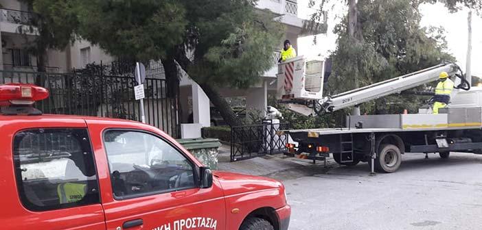 Άμεση παρέμβαση υπηρεσιών του Δήμου Βριλησσίων για την αντιμετώπιση συνεπειών από τις βροχοπτώσεις
