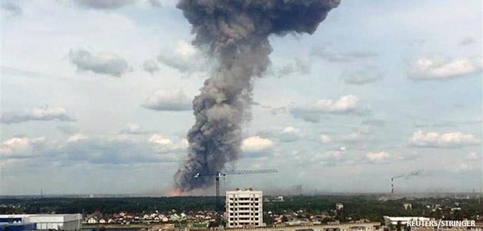 Δεκάδες τραυματίες από την έκρηξη σε εργοστάσιο πυρομαχικών στη Ρωσία