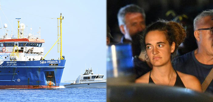To «Sea Watch» αψηφά τις ιταλικές αρχές, ελλιμενίζεται στη Λαμπεντούζα