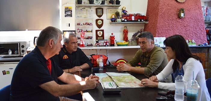 Σύσκεψη για την πυρασφάλεια του Δήμου Πεντέλης παρουσία της νέας δημάρχου και του προέδρου του ΣΠΑΠ