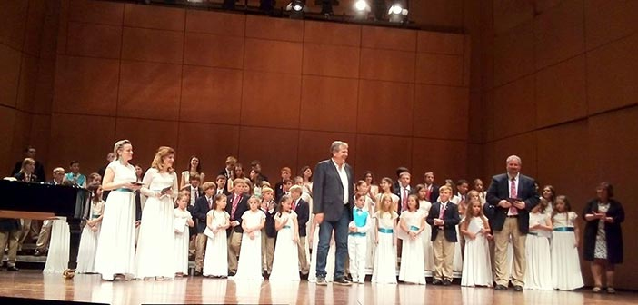 Εξαιρετική συναυλία από την Παιδική – Νεανική Χορωδία του ΠΕΑΠ στο Μέγαρο Μουσικής