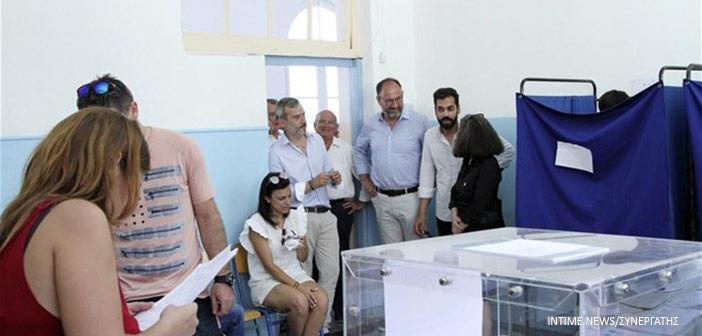 Στο 57,56% η συμμετοχή στις εθνικές εκλογές – χαμηλότερη από τις Ευρωεκλογές