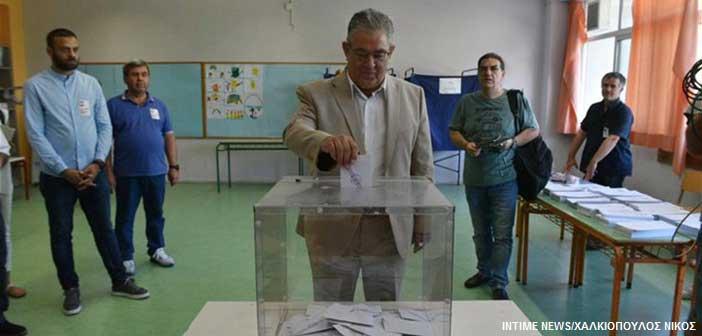 Δ. Κουτσούμπας: Ψηφίζουμε για να είμαστε πιο δυνατοί την επόμενη ημέρα