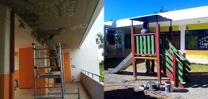Με εντατικούς ρυθμούς οι επισκευές στα σχολεία του Δήμου Ηρακλείου Αττικής