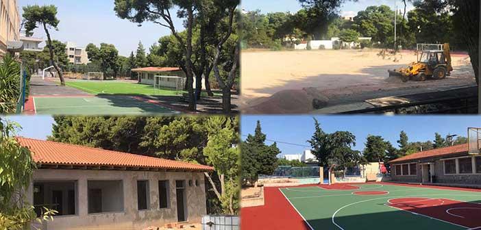 Συνεχίζονται τα έργα σε σχολεία του Δήμου Λυκόβρυσης – Πεύκης και στο Στάδιο