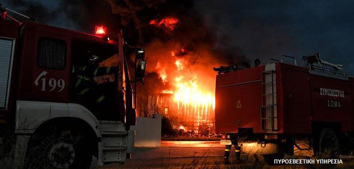 Φωτιά σε σε εγκαταλελειμμένη μονοκατοικία στη Ν. Ιωνία