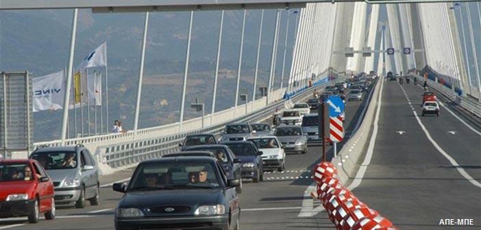 Κυκλοφοριακές ρυθμίσεις από Δευτέρα 22/7 στη γέφυρα Ρίου – Αντιρρίου