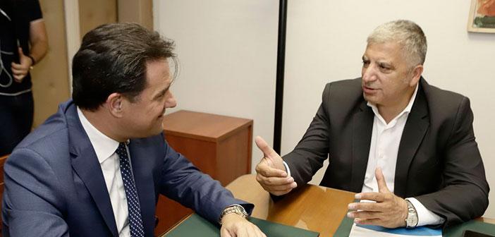 Συνεργασία για την αναπτυξιακή επανεκκίνηση της Αττικής ξεκινούν Αδ. Γεωργιάδης και Γ. Πατούλης