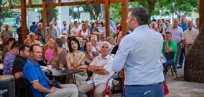 Σάκης Ιωαννίδης: Οικονομία και ασφάλεια οι προτεραιότητες της Ν.Δ.