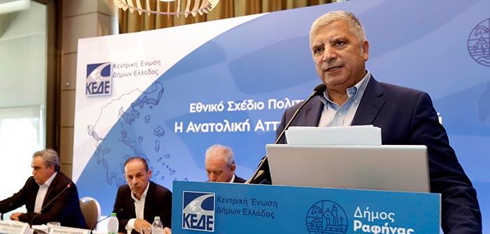 Γ. Πατούλης: Ήρθε η ώρα η Ελλάδα και ειδικότερα η Αττική να θωρακιστούν