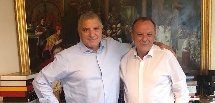Συνάντηση Γ. Πατούλη με τον νέο δήμαρχο Ελευσίνας για την Πολιτιστική Πρωτεύουσα