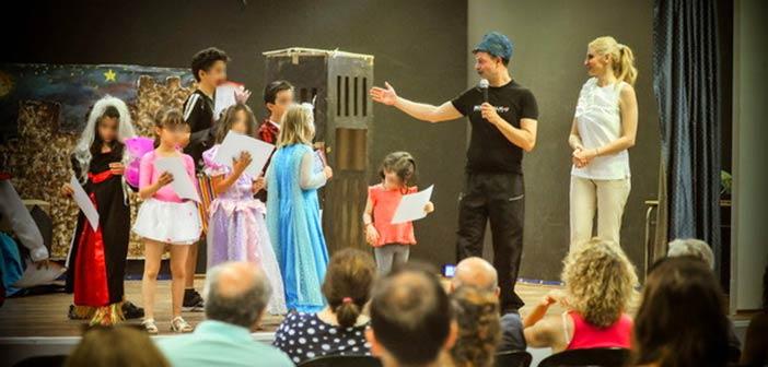 Γιορτή λήξης των μαθημάτων Θεατρικής Αγωγής του ΠΕΑΠ Λυκόβρυσης – Πεύκης