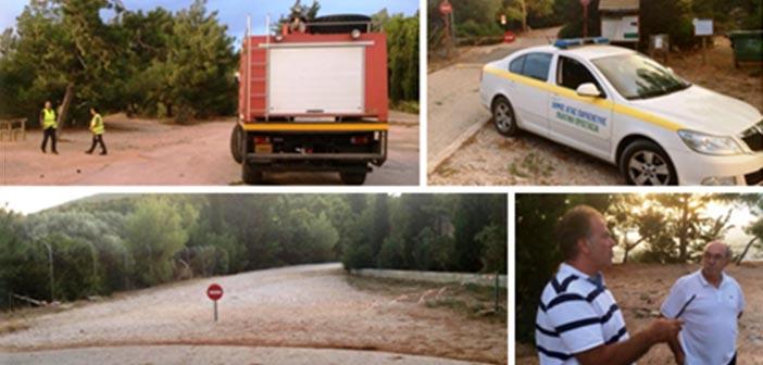 Δήμος Αγίας Παρασκευής: Σε πλήρη ετοιμότητα για την πυροπροστασία του Υμηττού