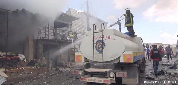 Συρία: Δεκάδες άμαχοι νεκροί από βομβαρδισμούς και πυρά