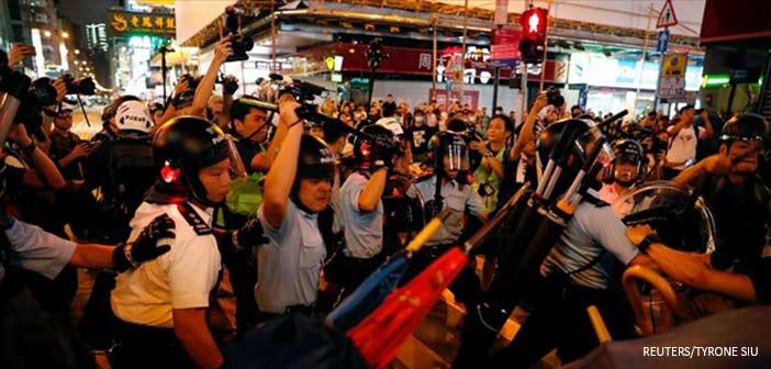Η βία επέστρεψε στους δρόμους του Χονγκ Κονγκ