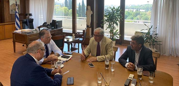 Για τα θέματα του Αμαρουσίου ενημέρωσε τον υπουργό Εσωτερικών ο νέος δήμαρχος